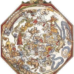 Star Map, Astronomicon Caesareum, 1540 by Science Source