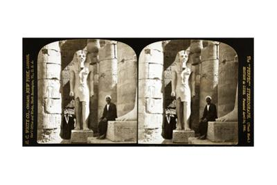 Statue of Ramses II, Luxor Temple, 1908 by Science Source