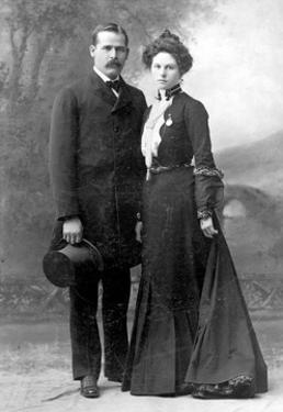 Sundance Kid and Etta Place, 1901 by Science Source