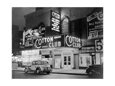 The Cotton Club, 1930's