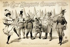 The Gay Morning Glories, 1898 by Science Source