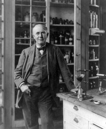 Thomas Edison, American Inventor by Science Source