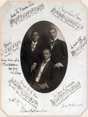 Those Ebony Offenbachs, Johnson Brothers and Cole by Science Source