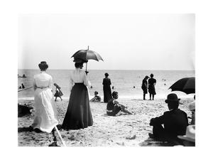 Turn of the Century Palm Beach by Science Source