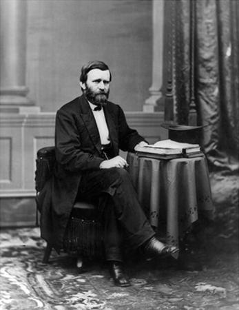 Ulysses S. Grant, 18th U.S. President by Science Source