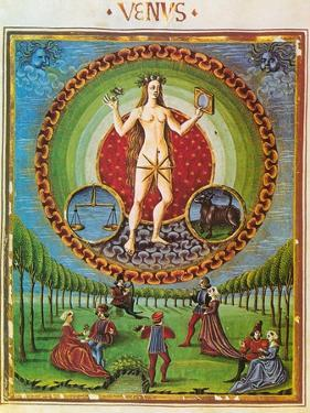 Venus, Ruler of Taurus and Libra by Science Source