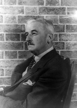 William Faulkner, American Author by Science Source