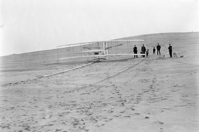 Wright Brothers Airplane, Big Kill Devil Hill, 1903