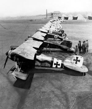 "WWI, Manfred von Richthofen's ""Flying Circus"" by Science Source"