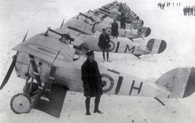 WWI, No. 1 RAF Squadron, 1917 by Science Source