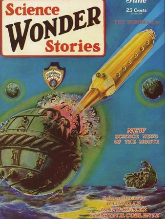 Science Wonder Stories, 1929, USA