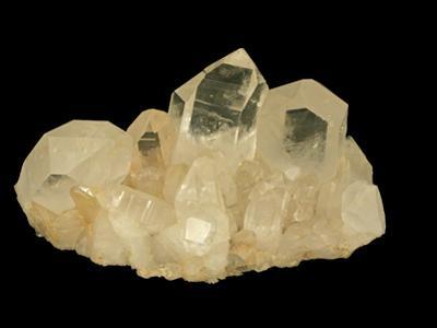 Quartz Crystals, Hot Springs, Arkansas, USA, Specimen Courtesy Jmu Mineral Museum by Scientifica