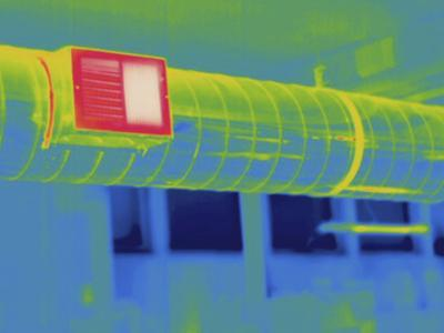 Thermogram - Heating Ducts by Scientifica