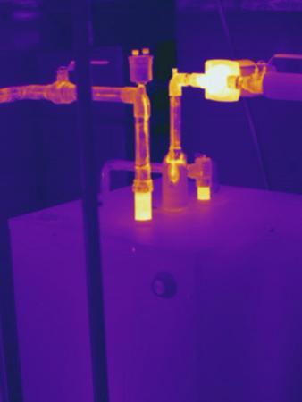 Thermogram - Hot Water Pipes by Scientifica
