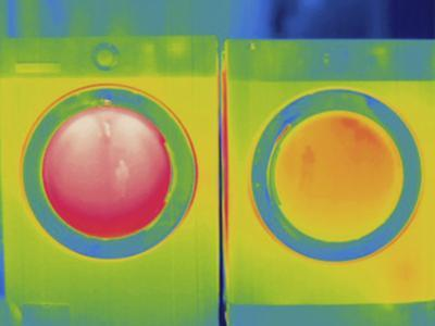 Thermogram - Washer and Dryer in Use by Scientifica