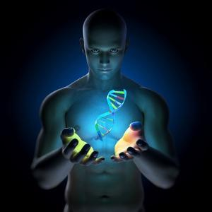 Genetic Research, Conceptual Artwork by SCIEPRO