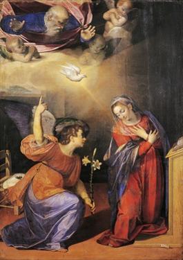 Annunciation, 1587 by Scipione Pulzone