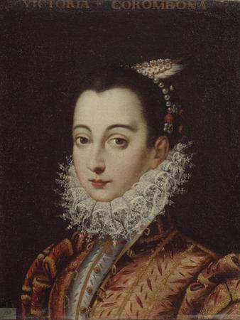 Portrait of Vittoria Accoramboni (1557-158), C. 1580 by Scipione Pulzone