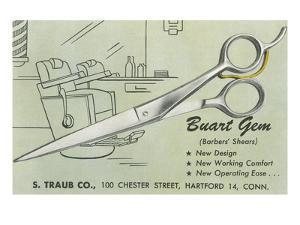 Scissors Advertisement