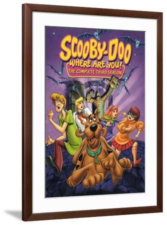 Scooby Doo, Where Are You!--Framed Poster