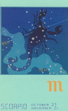 Scorpio, the Scorpion