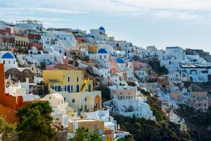The Famous Blue and White City Oia,Santorini by scorpp