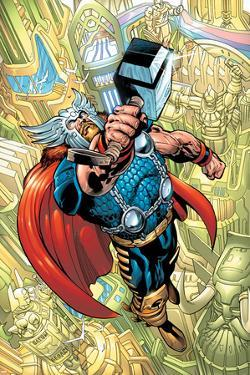 Thor No.78 Cover: Thor by Scot Eaton
