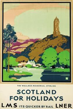 Scotland for Holidays, Poster Advertising British Railways