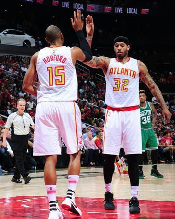 Boston Celtics v Atlanta Hawks - Game Five by Scott Cunningham