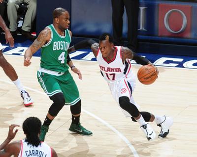 Boston Celtics v Atlanta Hawks by Scott Cunningham