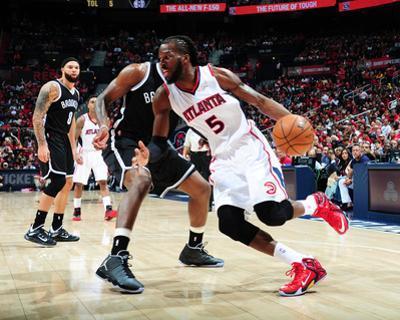 Brooklyn Nets v Atlanta Hawks - Game One by Scott Cunningham