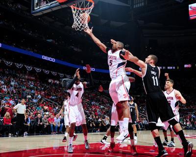 Brooklyn Nets v Atlanta Hawks - Game Two by Scott Cunningham