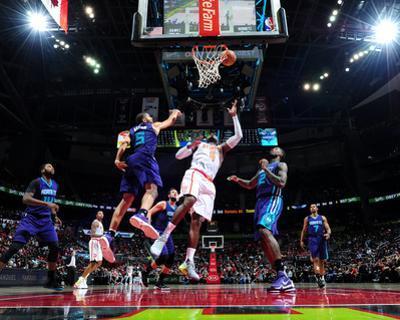 Charlotte Hornets v Atlanta Hawks by Scott Cunningham