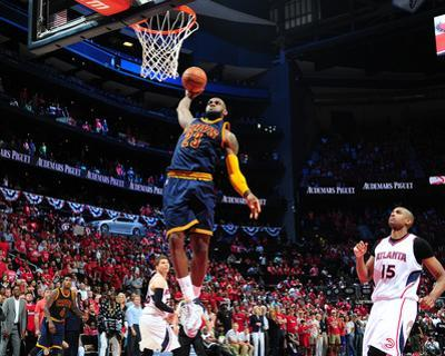 Cleveland Cavaliers v Atlanta Hawks - Game One by Scott Cunningham