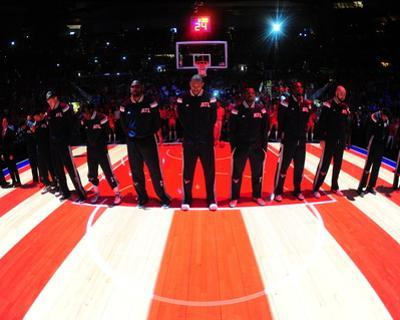 Cleveland Cavaliers v Atlanta Hawks - Game One by Scott Cunningham