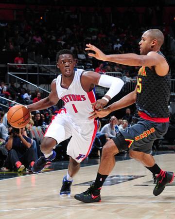 Detroit Pistons v Atlanta Hawks by Scott Cunningham
