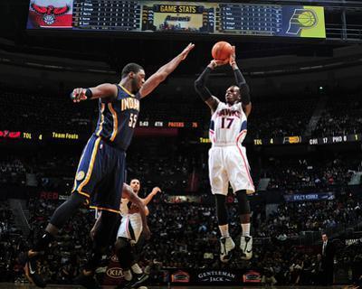 Indiana Pacers v Atlanta Hawks by Scott Cunningham