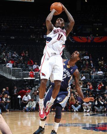 Memphis Grizzlies v Atlanta Hawks: Jamal Crawford by Scott Cunningham