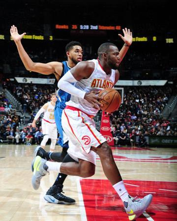 Minnesota Timberwolves v Atlanta Hawks by Scott Cunningham