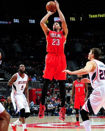 New Orleans Pelicans v Atlanta Hawks by Scott Cunningham