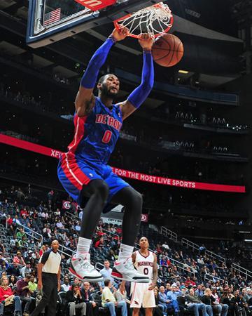 Nov 20, 2013, Detroit Pistons vs Atlanta Hawks - Andre Drummond by Scott Cunningham