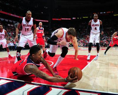 Washington Wizards v Atlanta Hawks - Game Five by Scott Cunningham