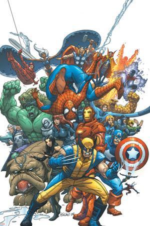 Marvel Team Up No.1 Cover: Wolverine