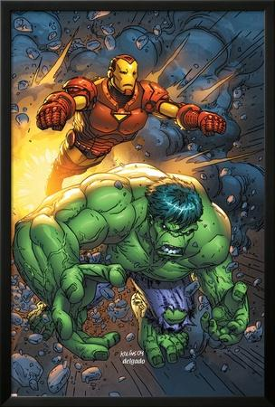 Marvel Team-Up No.4 Cover: Hulk and Iron Man