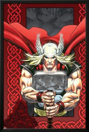 Thor: Blood Oath No.6 Cover: Thor