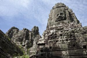 Carved Faces Dominate Bayon, the Premier Temple Within Angkor Thom by Scott S. Warren