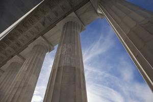 Columns of the Lincoln Memorial by Scott S. Warren