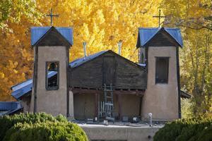 El Santuario De Chimayo, a Famous Church Along the High Road to Taos, New Mexico by Scott S. Warren