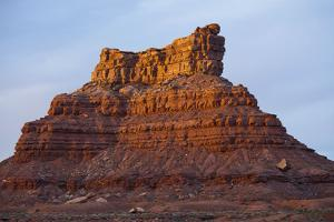 One of Several Large Monuments in the Valley of the Gods in Southeastern Utah by Scott S. Warren