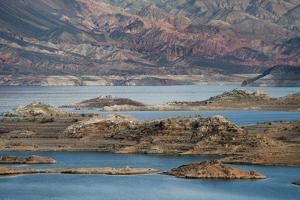 View of the Lake's Western End in Lake Mead National Recreation Area, Nevada by Scott S. Warren